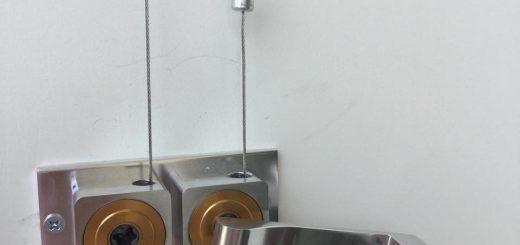 Hình ảnh bộ tời giàn phơi HP99B và dây cáp bộ tời