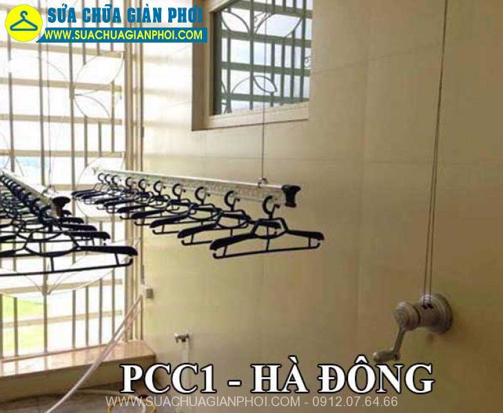 Dịch vụ sửa chữa giàn phơi thông minh tại PCC1 Hà Đông Uy tín