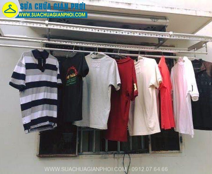 Sửa chữa giàn phơi quần áo uy tính số 1 tại Thanh Oai Hà Nội