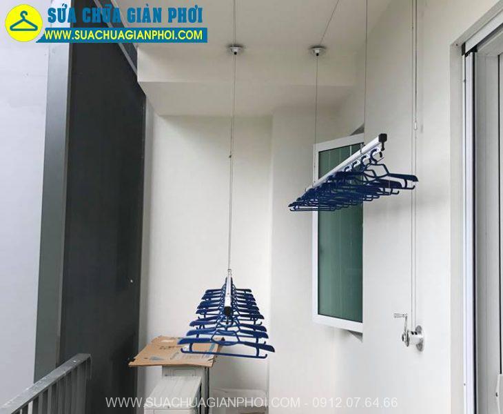 Hình ảnh giàn phơi thông minh chung cư PCC1 Ba La Hà Đông - 1