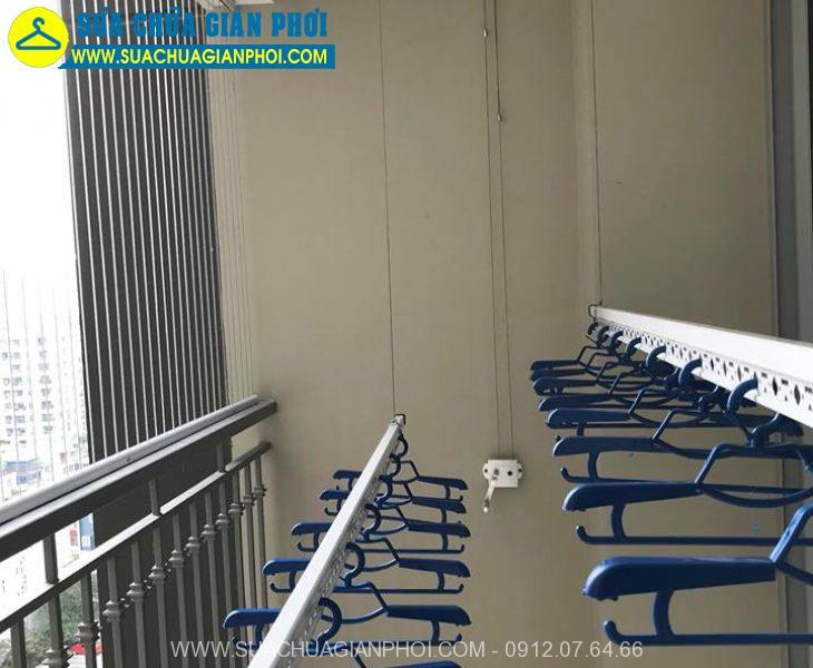 Hình ảnh giàn phơi thông minh chung cư PCC1 Ba La Hà Đông - 3