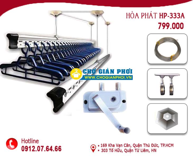 Giàn phơi thông minh Hòa Phát HP-333
