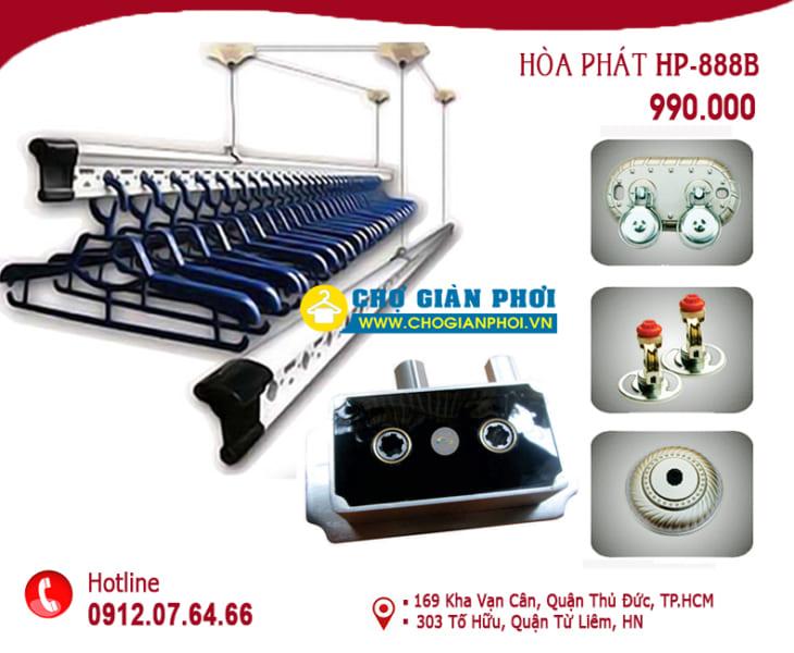 Giàn phơi thông minh Hòa Phát HP-888