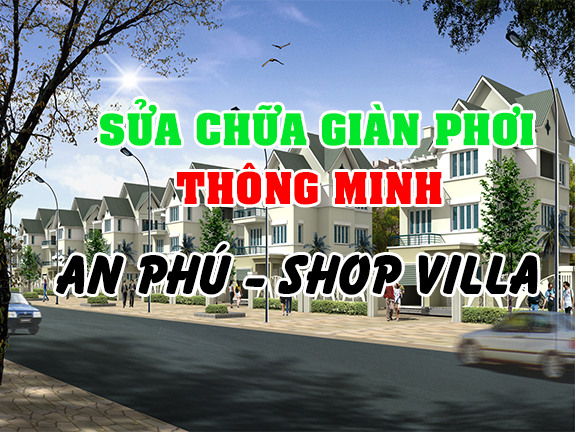 Dịch vụ sửa chữa giàn phơi thông minh An Phú - Shop Villa