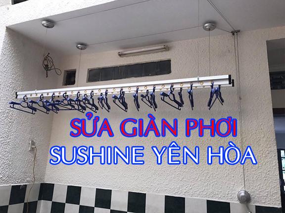 Sửa giàn phơi chung cư Shushine Yên Hòa Cầu Giấy