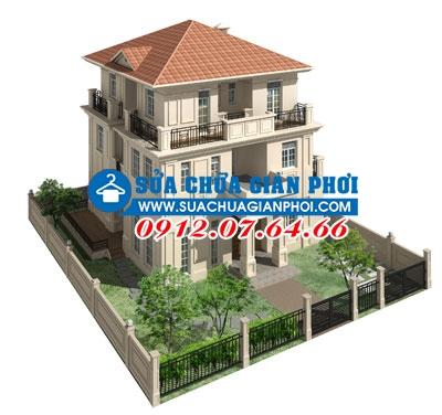 Mô hình biệt thự Splendora An Khánh